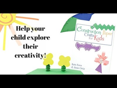 Get the Book, Construction Paper Crafts for Kids!