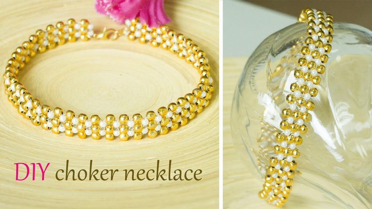 how to make your own choker necklace