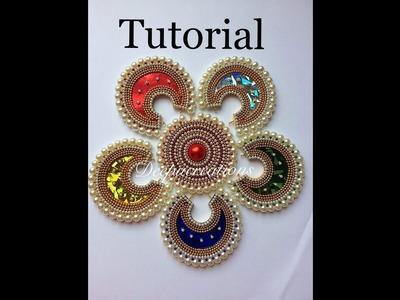 Paper based pendant tutorial.