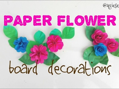Paper Flowers for Board Decorations | Classroom Decorations