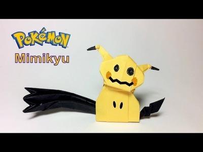 Paper Pokemon: Origami Mimikyu Tutorial