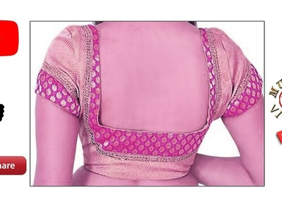 Square neck blouse cutting and stitching # DIY # Part 104
