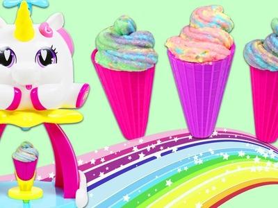 Unicone Rainbow Ice Cream Swirl Maker Playset Fun & Easy DIY Rainbow Frosting Swirl Sweet Treats!