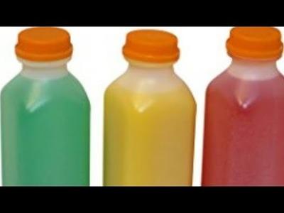 Bottles crafts for home organising.diy