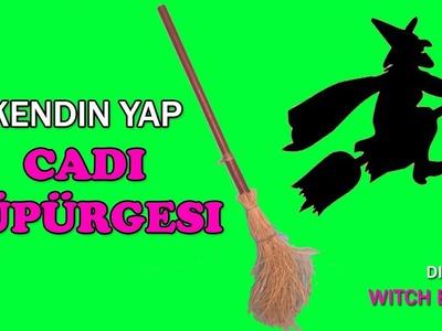 CADI SÜPÜRGESİ YAPILIŞI | Diy Witch Broom