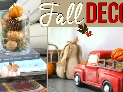 DECORATE WITH ME FOR FALL 2017 | DIY FALL HOME DECOR | Page Danielle