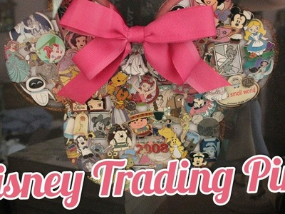 DISNEY TRADING PINS | My Collection + Display DIY