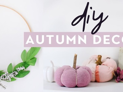 DIY Autumn Home Decor 2017 | Cosy Fall Inspired Room Decor Projects