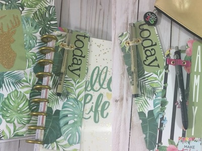 DIY Boookmark + Pen Holder! {BIG Happy Planner}