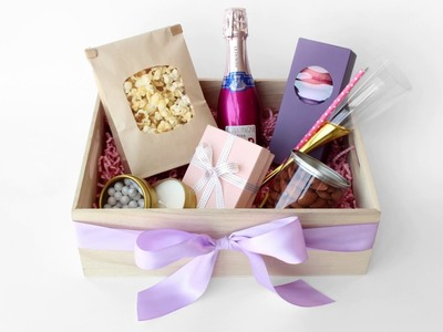 DIY Bridesmaid Gift Box