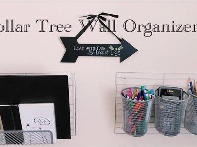 DIY Dollar Tree IKEA Hack Wall Organizers - $5