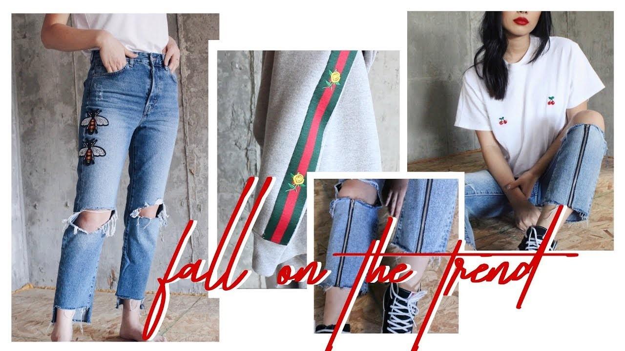 DIY fall fashion trends. show&tell