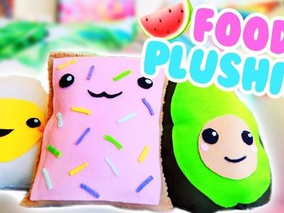 DIY FOOD PLUSHIES (KAWAII + NO SEW)