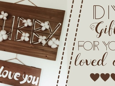 DIY gift idea for anniversaries & other days of the year ~ rustic style ~ ivory ivi