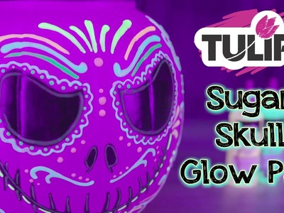 DIY Glow in the Dark Blacklight Pumpkin Trick or Treat Pail