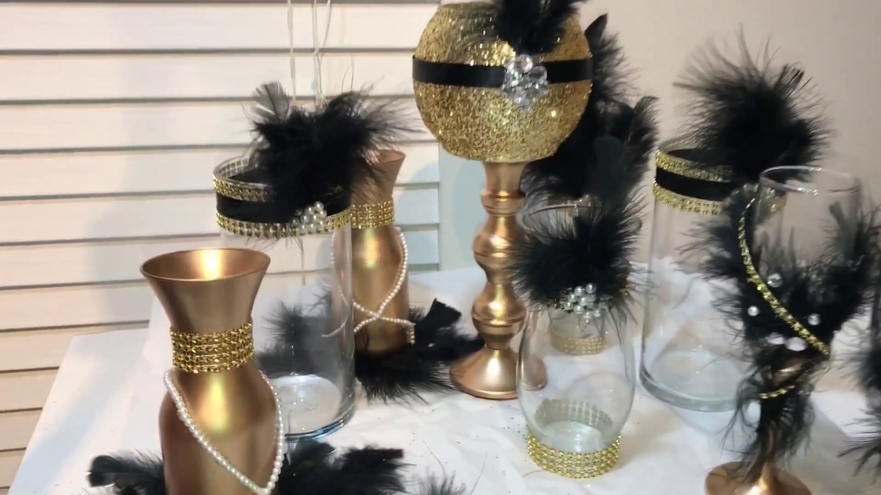Diy Great Gatsby Wedding Globe Centerpieces My Crafts And