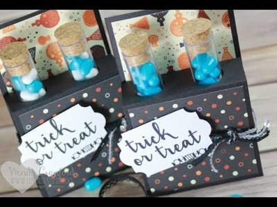 DIY Halloween Test Tube Treats feat. Stampin' UP! Creep It Real