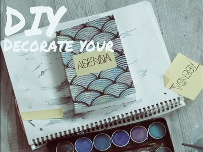 [DIY] How to decorate your diary