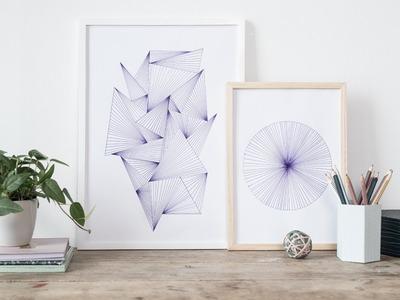DIY : Inspirational illustrations for your workspace by Søstrene Grene