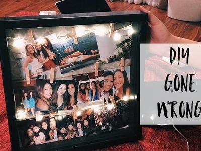 DIY: Light up picture frame