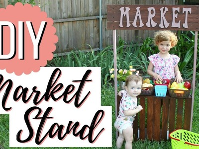 DIY Market Stand   How to Make a Play Market