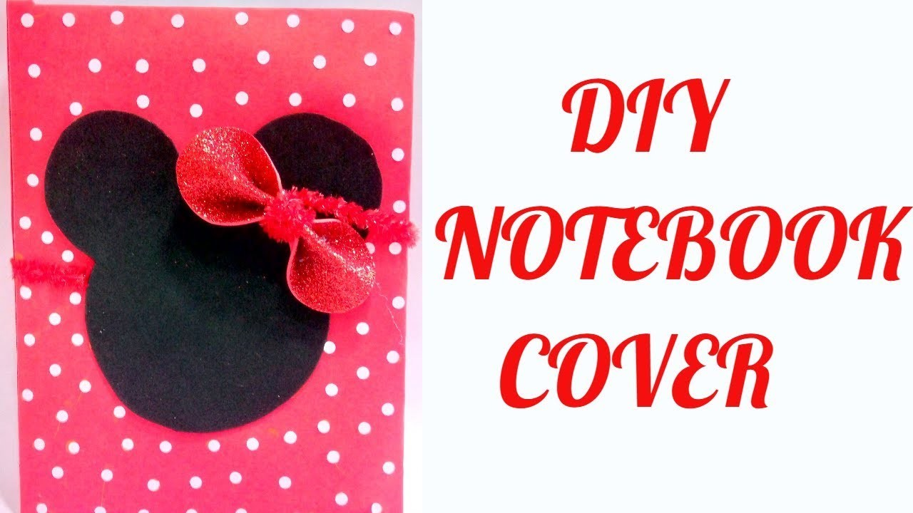 Diy notebook cover idea notebook cover design decorate for Art and craft file cover decoration