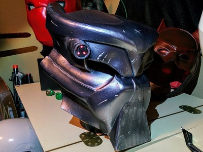 DIY PREDATOR Bio Mask cosplay budget build Part 1