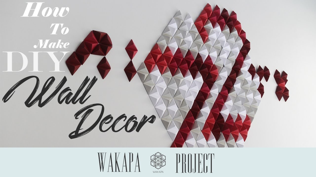 DIY Project #2 | Wall Decor (Indonesia Independence Day Theme) | Wakapa Project