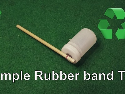 DIY Rubber Band Toys - How to make a Rubber Band Toys - YouTube