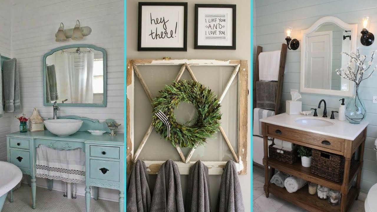 ❤DIY Shabby chic style  Bathroom decor & Organization Ideas ❤| Home decor | Flamingo Mango|