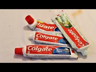DIY - simple ideas.awesome ideas using Colgate