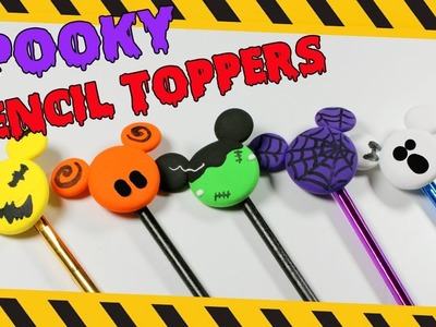 DIY Spooky Pencil Toppers   How To Make Pencil Toppers