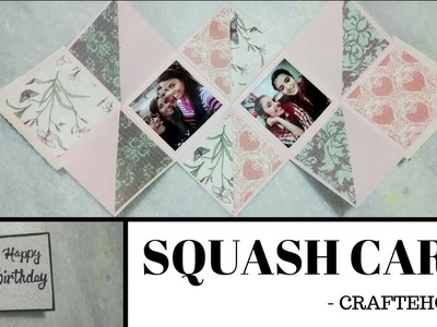 Diy squash card | birthday card\diy greeting cards\greeting cards for birthday |