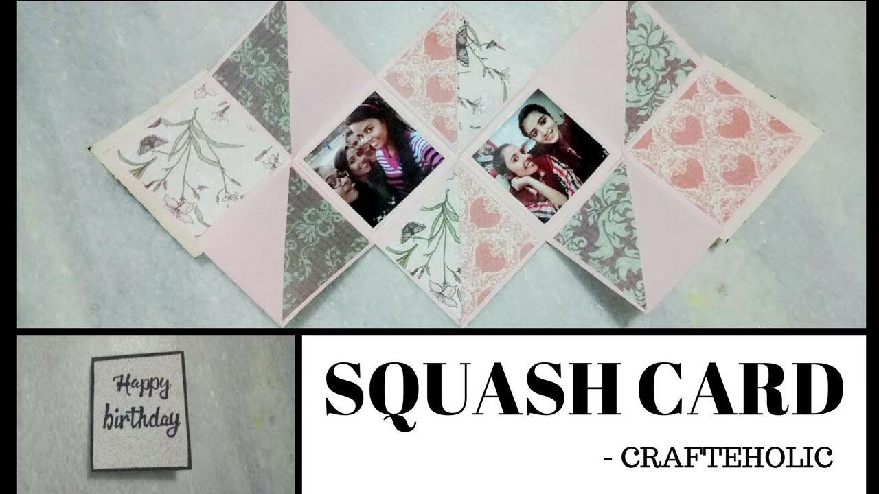 Diy squash card | birthday card\diy greeting cards\greeting cards for birthday |