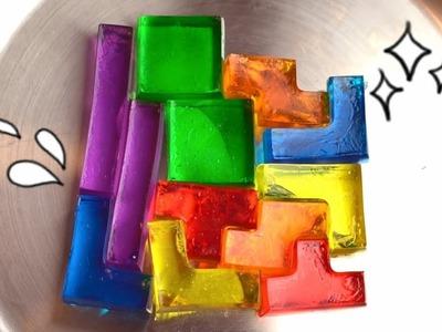 DIY TETRIS Jelly Gummy Blocks