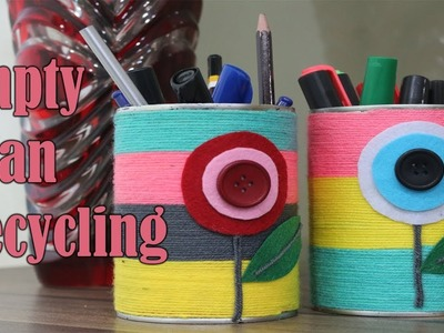 DIY Tin Can Recycling | Home Decor Crafts out of Tin Cans | Life Hacks with Tin Cans