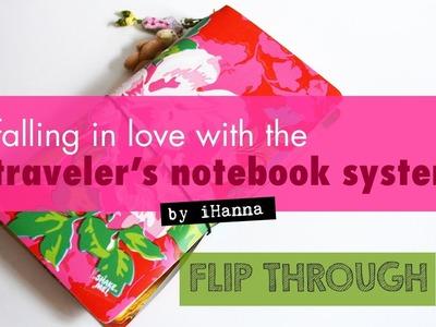 DIY Travler's Notebook IDEAS - flip through & inspiration
