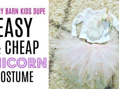 DIY Unicorn Costume Tutu for Toddlers, Babies, or Adults!