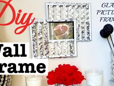 DIY Wall Picture Frame That is Quick, Cheap And Easy With Dollar Store & Walmart Items!