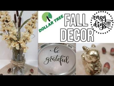 DOLLAR TREE DIY | FALL DECOR | COLLAB WITH DIY MOMMY!!!