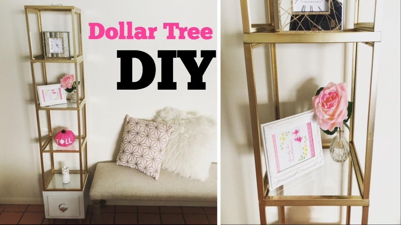 dollar tree diy glass shelf unit collab with coupontoprovide. Black Bedroom Furniture Sets. Home Design Ideas