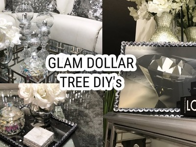 Dollar Tree Diy Home Decor Ideas Glam Mirror Coffee Table Home