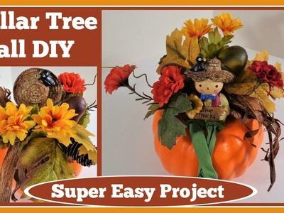 ????Dollar Tree Pumpkin  Fall DIY????