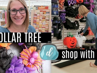 DOLLAR TREE SHOP WITH ME! ???? Halloween & Costume Jackpot, NEW Finds, DIY Ideas!