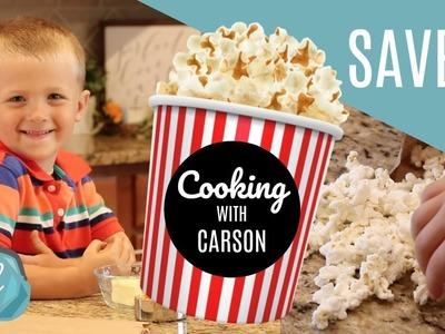 EASY & CHEAP SNACK! ???? DIY Microwave Popcorn Bags