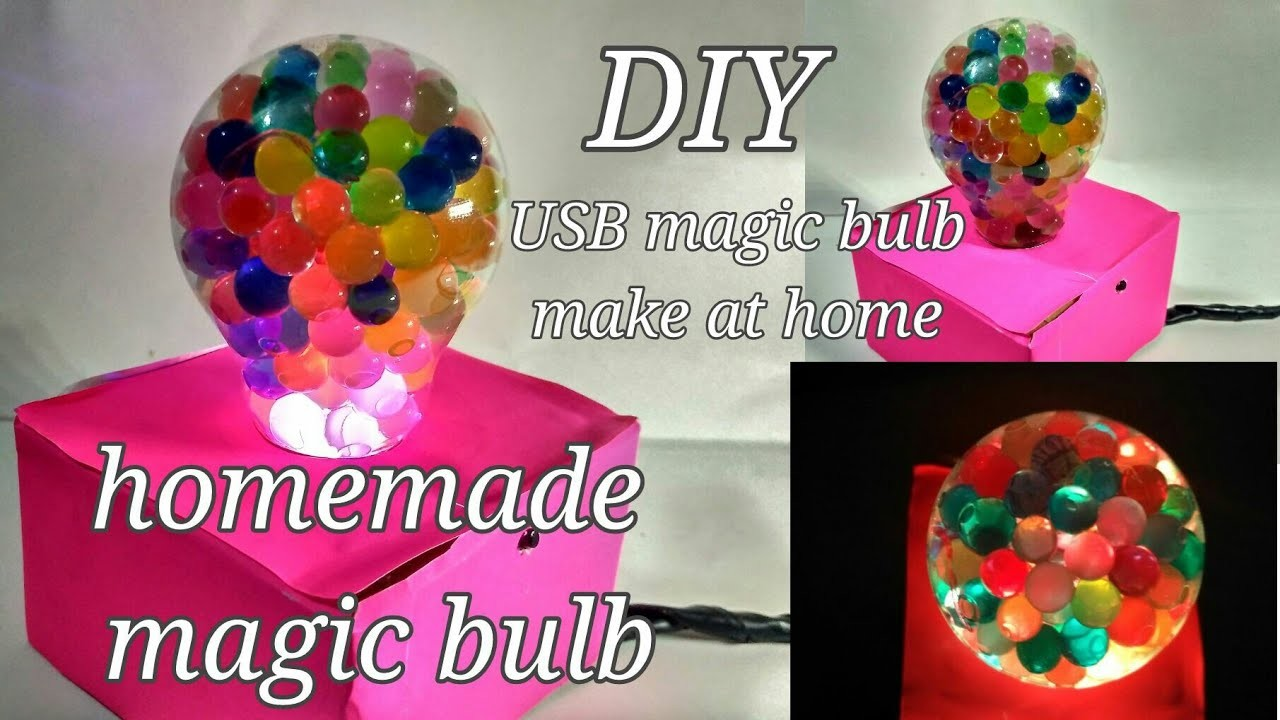 ganpati decoration ideas for home diy magic bulb homemade usb bulb