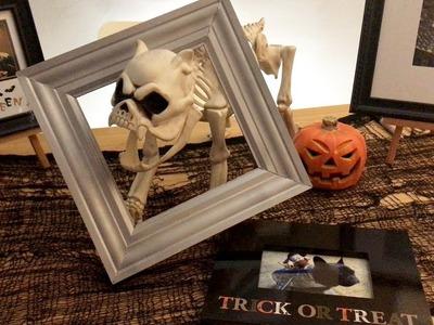 HALLOWEEN HOW-TO:  DIY Improving Dollar Tree Lenticulars & Easy Art Framing & Decorating Tips