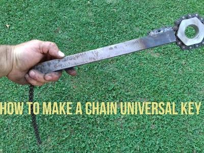 How to Make a Chain Universal Key homemade DIY