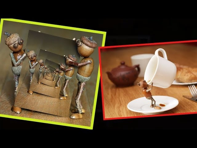 Make DIY acorn crafts for decorating to Make and Sell   Part 2