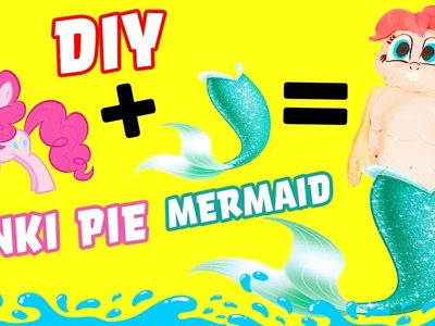 My Little Pony Mr Doh Mermaid Pinky Pie DIY Crafts For Kids! Learn Colors Play-Doh How To Video!